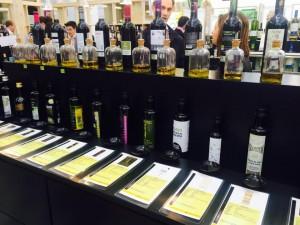 La standul regiunii spaniole Rioja am putut degusta atât vinuri, cât și sortimente de ulei de măsline