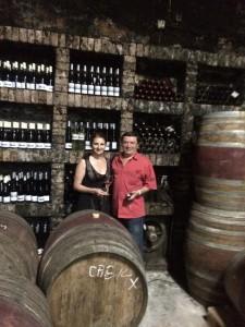 Cu Dan Boboc, în pivnița Nachbil