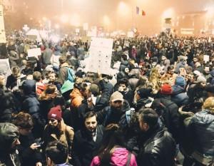 Proteste, Bucuresti, 2015